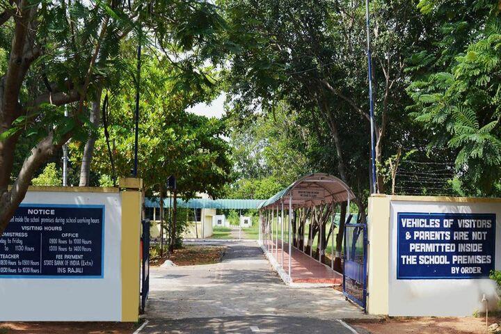Navy Childern School-School Entrance