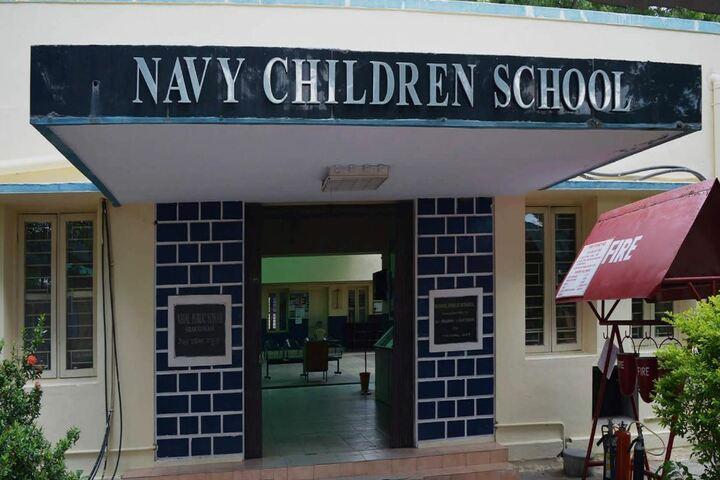 Navy Childern School-School