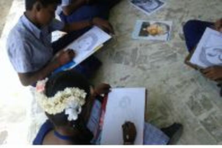 Nehruji Central Higher Secondary School-Drawing Event