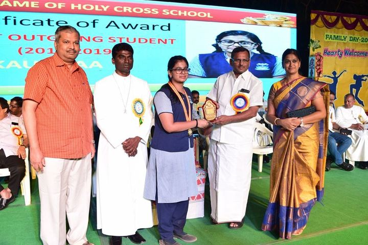 Notredame Of Holycross School-Award Receiving