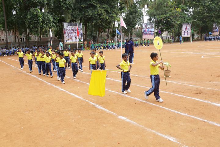 Om Sadhana Central School-Sport Day