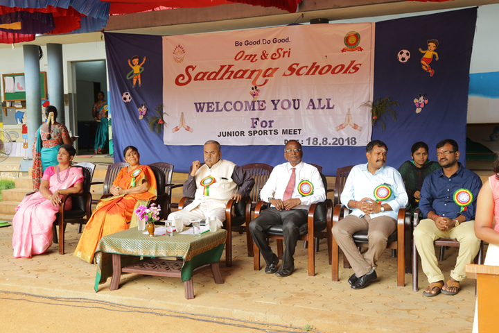 Om Sadhana Central School-Sport Meet