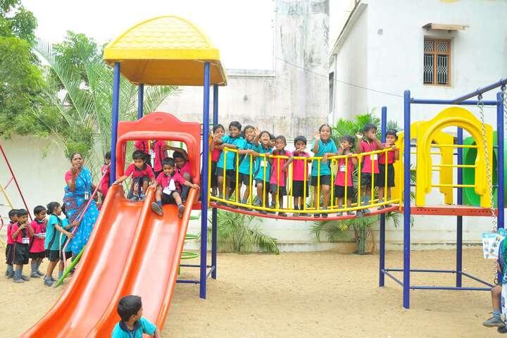 Om Shanthi Higher Secondary School-Kids Play Area
