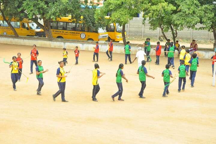 Om Shanthi Higher Secondary School-PlayGround