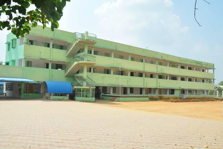 Om Shanthi Higher Secondary School-School View