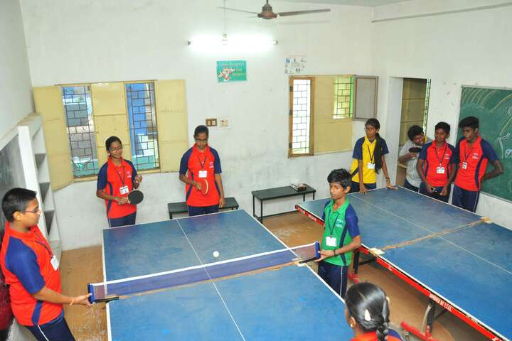 Om Shanthi Higher Secondary School-Table Tennis Court