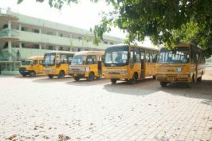 Om Shanthi Higher Secondary School-Transport