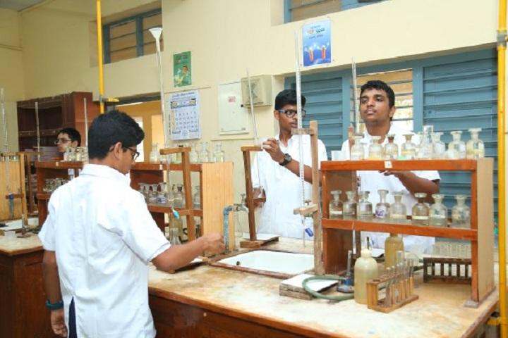 P S Senior Secondary School-Chemistry Lab