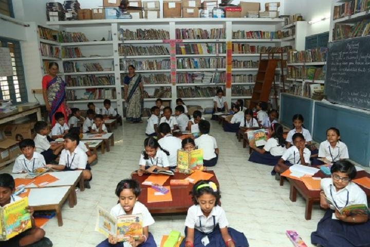 P S Senior Secondary School-Library