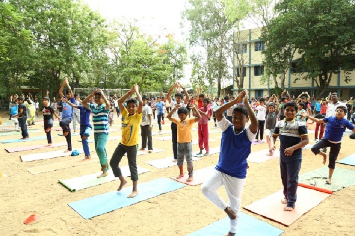 P S Senior Secondary School-Yoga