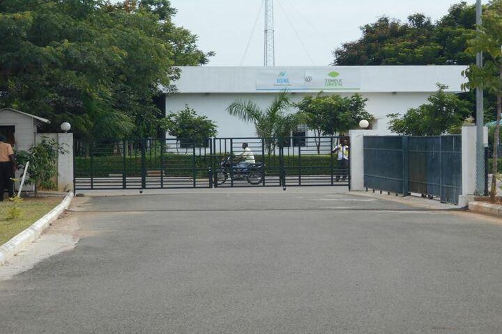 P S Temple Green Vidyashram-School Entrance
