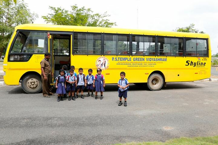 P S Temple Green Vidyashram-Transport