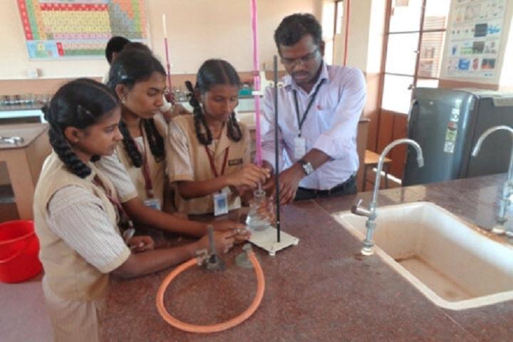 Pandugudi Sri Lakshmi Narayana Vidyalaya-Chemistry Lab