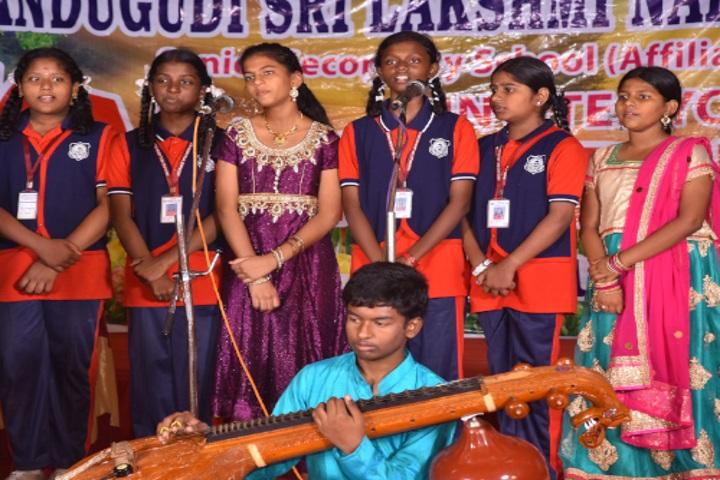 Pandugudi Sri Lakshmi Narayana Vidyalaya-Music Competition