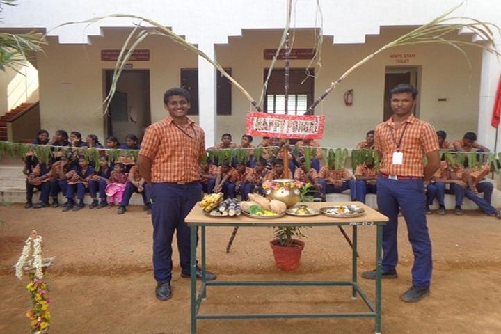 Pandugudi Sri Lakshmi Narayana Vidyalaya-Pongal Celebrations