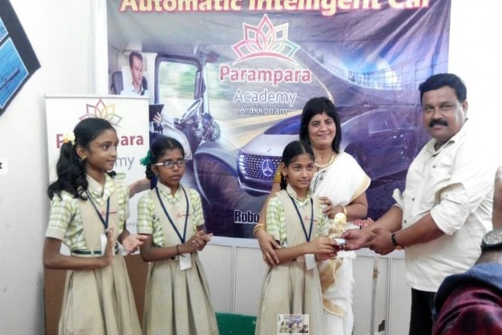Parampara Academy-Award Receiving