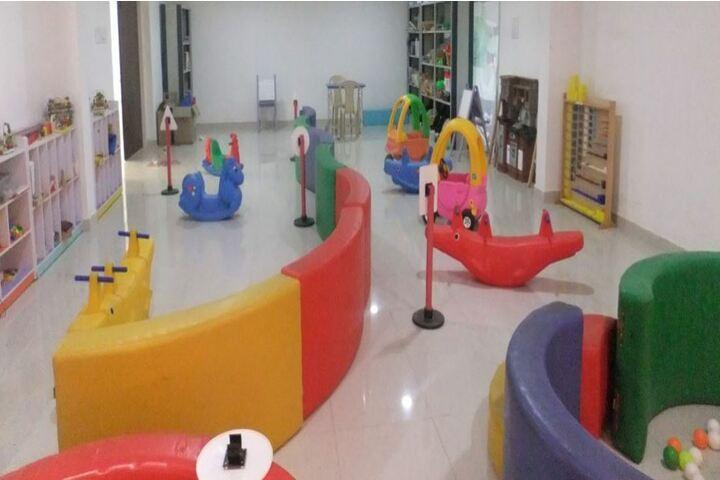 Parvathys Anugrahaa International School-Kids Play Area