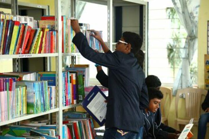 Parvathys Anugrahaa International School-Library