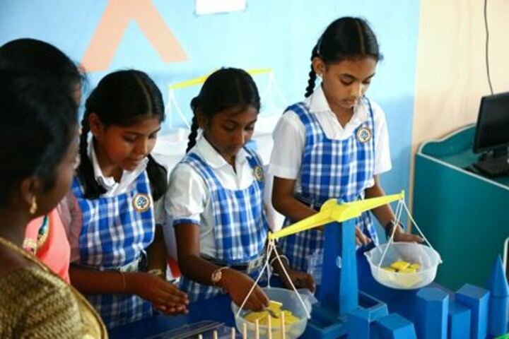 Parvathys Anugrahaa International School-Math Lab