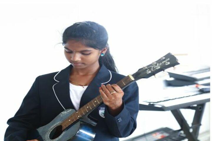Parvathys Anugrahaa International School-Music Room