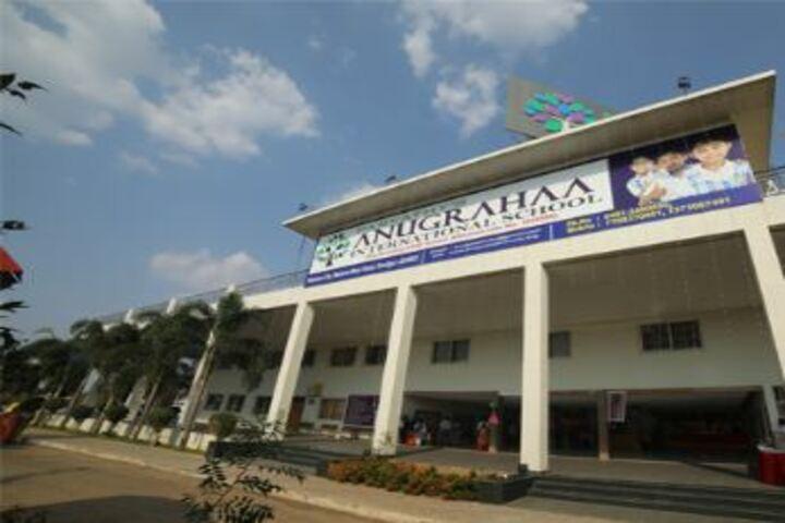 Parvathys Anugrahaa International School-School Entrance