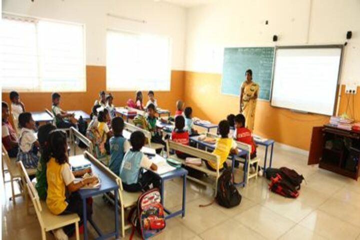 Parvathys Anugrahaa International School-Smart Classrooms