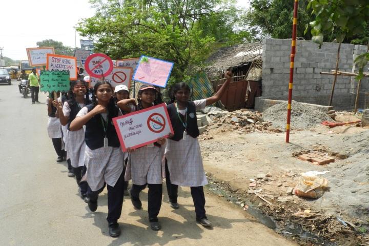Peace On Green Earth Public School-Rally