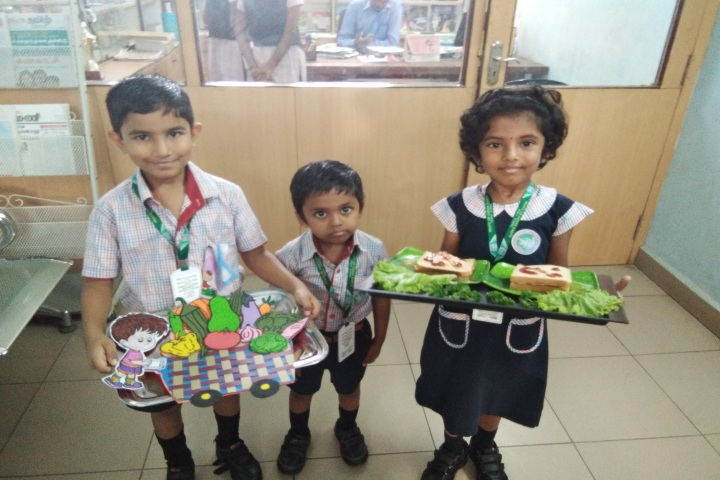 Peace On Green Earth Public School-Vegetable  day