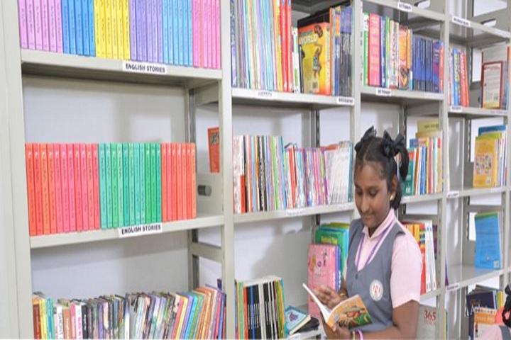 Pearls Public School-Library