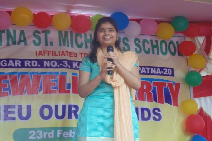 St Michaels School-Farewell Party
