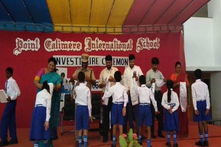 Point Calimere International School-Investiture Ceremony