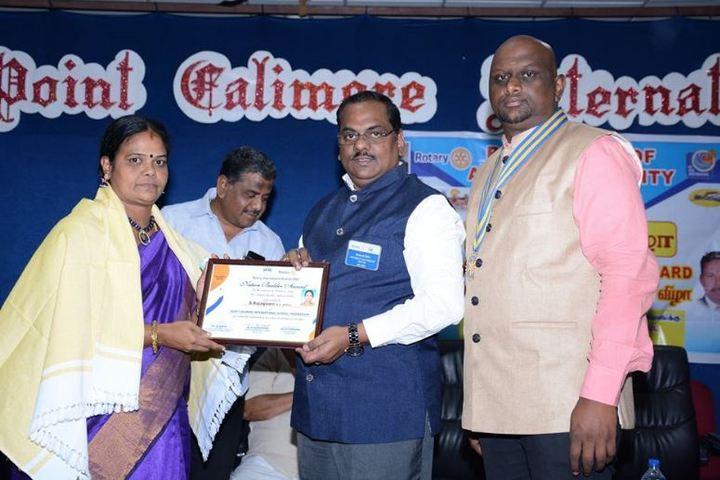 Point Calimere International School-School Award Receiving