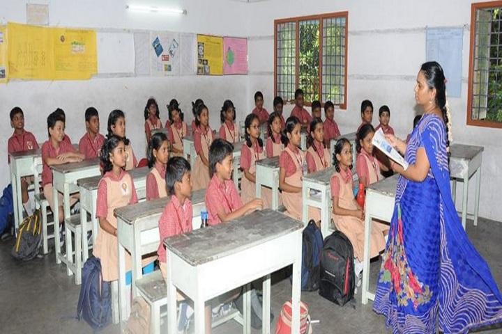 Pon Vidyashram-Classrooms