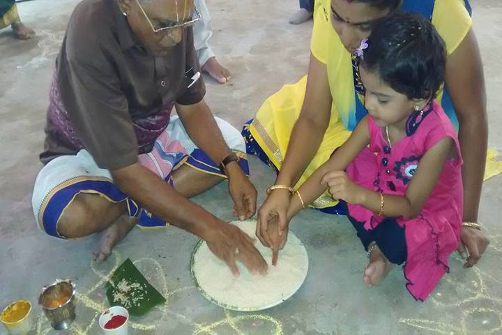 Pon Vidyashram-Aksharabyas Event