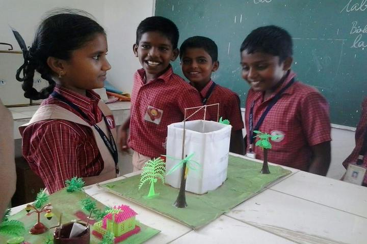 Pon Vidyashram-Science Exhibition