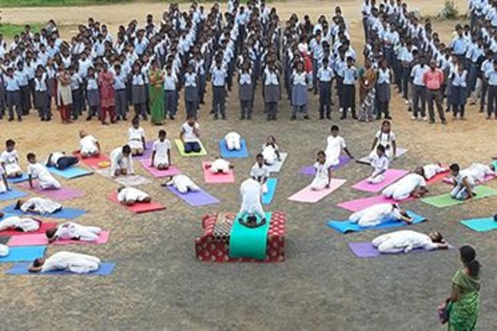 Pon Vidyashram-Yoga Day