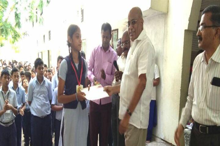 Ponnaiyah Ramajayam Public School-Award Receiving