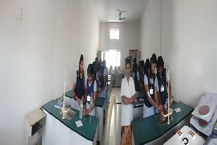 Ponnaiyah Ramajayam Public School-Chemistry  Lab
