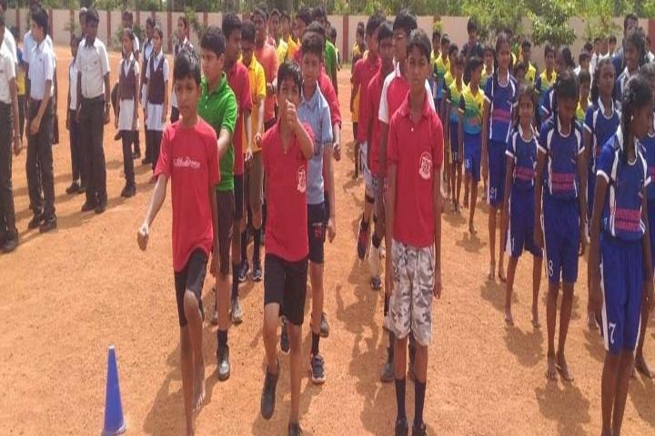 Ponnaiyah Ramajayam Public School-School Drill