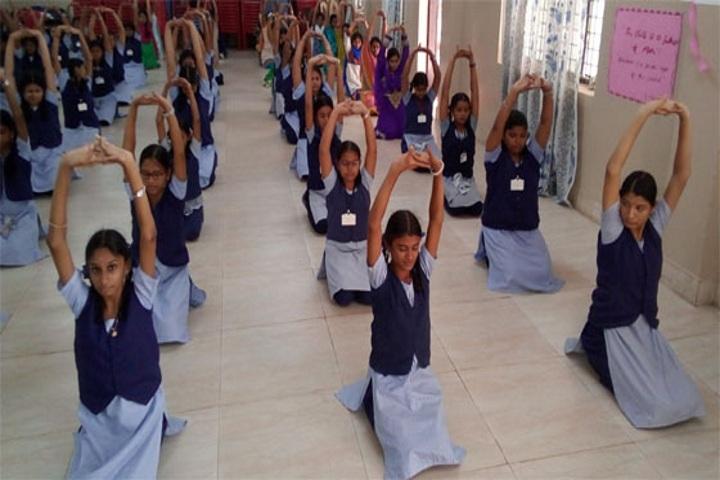Ponnaiyah Ramajayam Public School-Yoga day