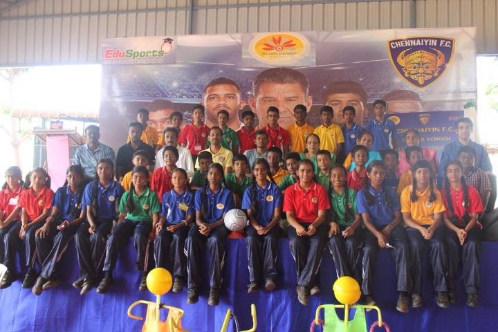 Prasiddhi Vidyodaya-Sports Day