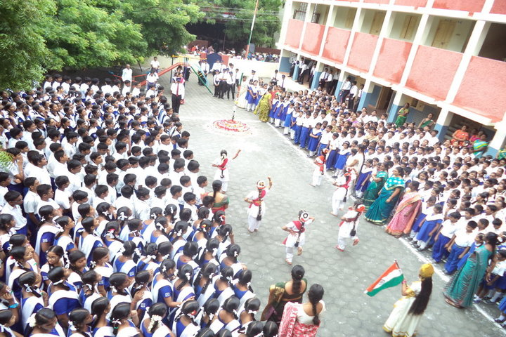 Prince Srivari Vidyalaya - Independence Day Celebrations