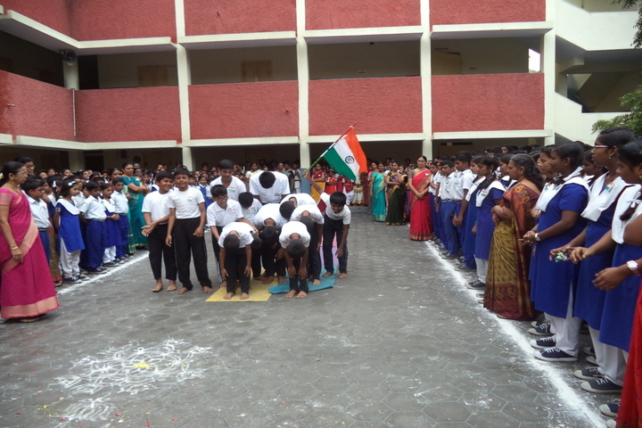 Prince Srivari Vidyalaya - Republic Day Celebrations