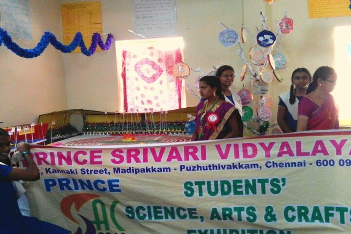 Prince Srivari Vidyalaya - Art and Craft Exhibition