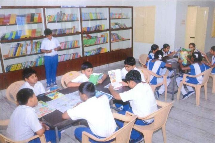 Prince Srivari Vidyalaya-Library