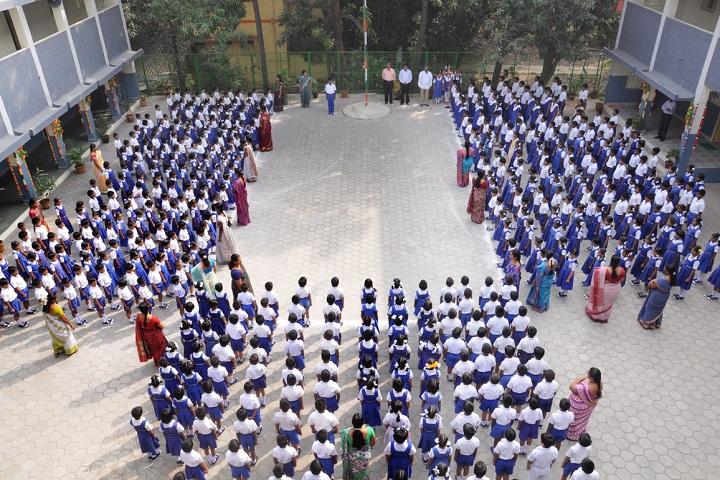 Prince Srivari Vidyalaya-Morning Assembly