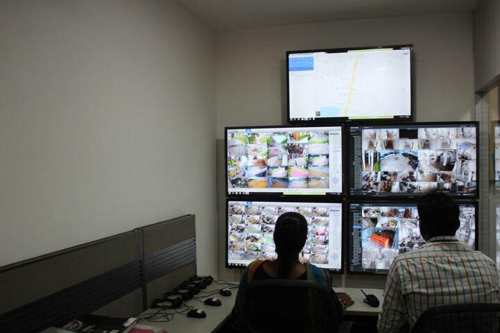 Queen Mira International School-CCTV Surveillance