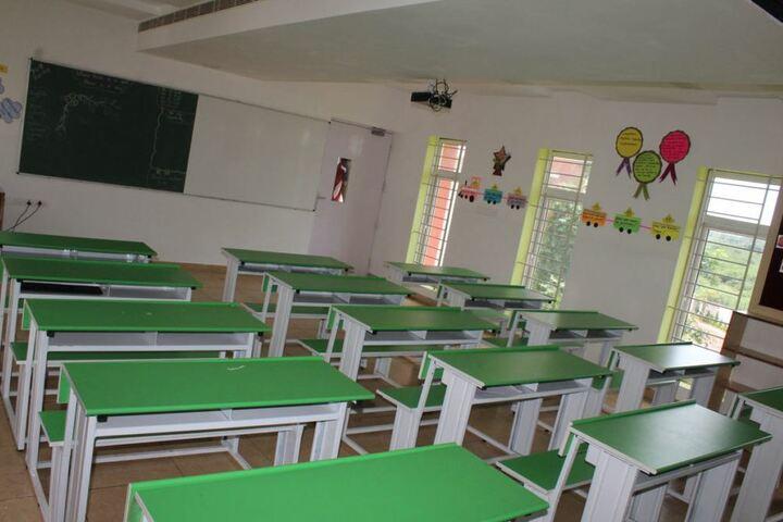 Queen Mira International School-Classrooms