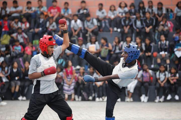 Queen Mira International School-Martial Arts