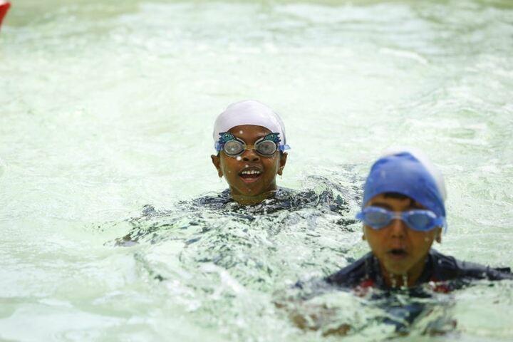 Queen Mira International School-Swimming Pool